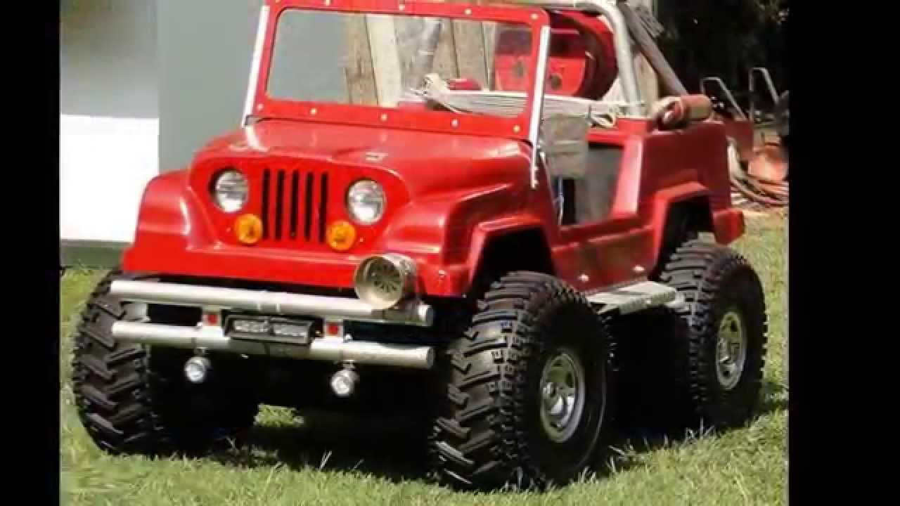 how to build a monster truck go kart