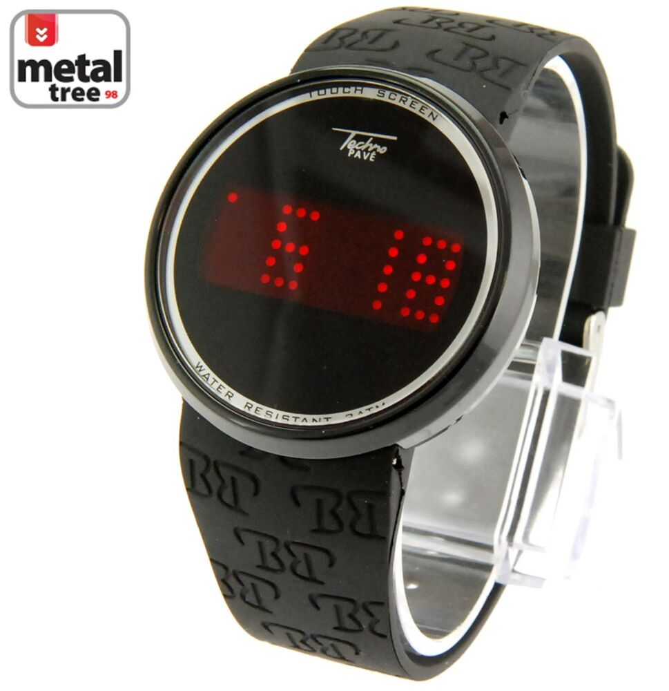 techno pave touch screen watch manual