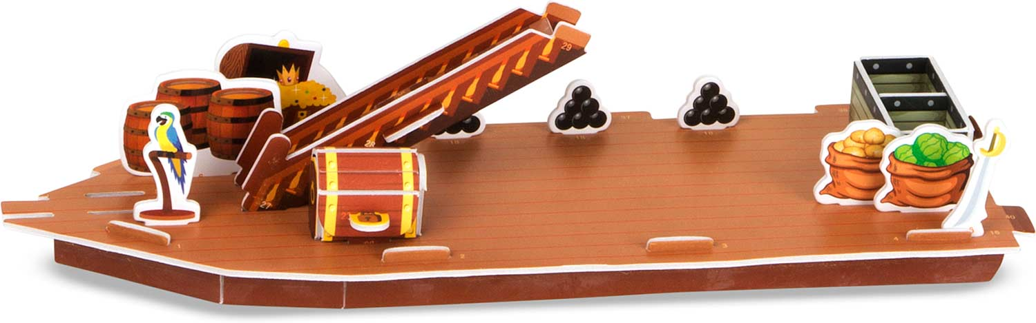 3d puzzle pirate ship instructions
