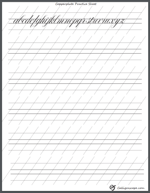 calligraphy practice sheets pdf grid