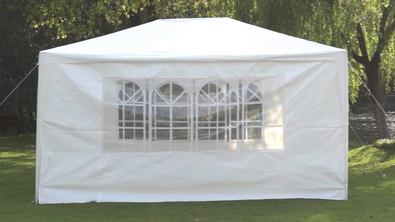 bunnings marquee party pavilion instructions