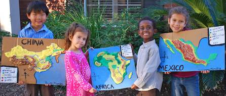 how to make a 3d map for kids
